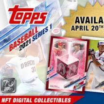 Topps首次推出其NFT棒球卡系列