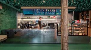 Zhytomyr的Sharikava咖啡店
