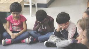 儿童正念研究可促进更安静更贴心的教室