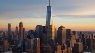 纽约市市场动态销售额实际同比增长