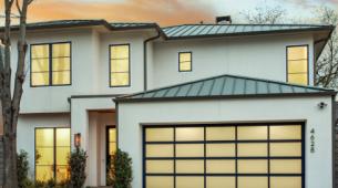 看看达拉斯Briarwood附近的加利福尼亚现代住宅
