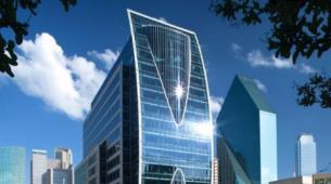 KBS在达拉斯18层办公大楼高地公园广场签署了五份新租约和扩建合同