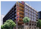 Hines劳德代尔堡城市街道规划木材办公室项目