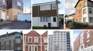 布里斯托尔目前出售的22处房地产不到100000英镑