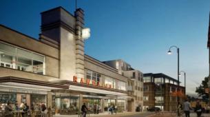 Uxbridge公寓将在前兰多尔斯大楼推出