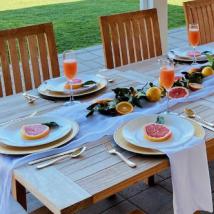 设计夏季餐桌的专家提示