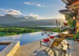 价值2300万美元的夏威夷哈纳雷湾上空的天堂景观