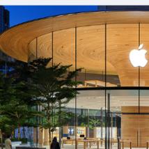 苹果在全球的5家令人惊叹的新店