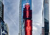 三星在纽约时代广场的中心安装了重要的新型LED显示屏