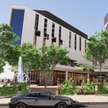 耗资4.5亿美元的图旺镇中心建设需要两年时间