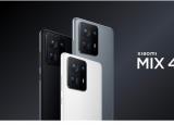 小米MIX4智能手机正式发布隐形摄像头120W负载和108兆像素摄像头