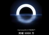 HarmonyOS升级超过5000万每秒8位用户安装这个新操作系统