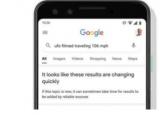 谷歌在搜索结果可能不可靠时警告用户