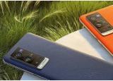 VivoX70Pro+智能手机的渲染图显示了曲面显示屏和L形四摄像头