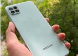 三星 Galaxy A22 5G智能手机评测