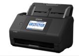 爱普生WorkForce ES580W无线双面触摸屏桌面文档扫描仪评测