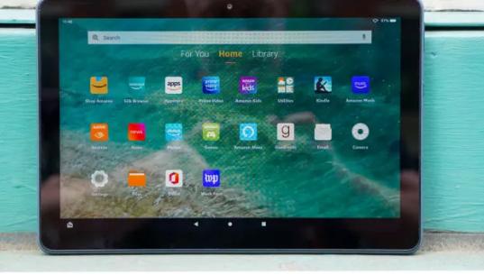 广州电脑维修亚马逊Fire HD 10 Plus平板电脑评测